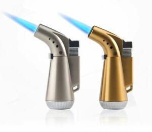 Torch-Turbo-Jet-Lighter-Butane-Cigar-Cigarette-Windproof-Refillable-Lighters-New