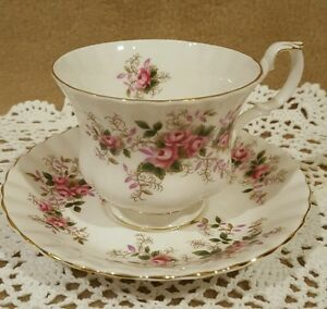 Royal Albert Lavender Rose Bone China Cup And Saucer Made in England