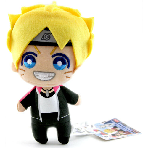 Cute Stuffed Plushy Dangler BORUTO UZAMAKI V2 Naruto 6/'/' Plush Banpresto