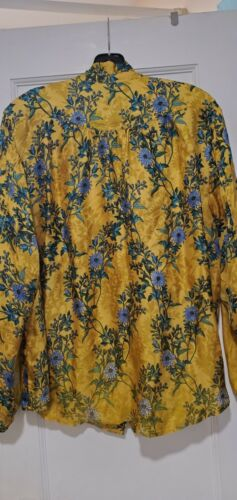 Johmmy Was XL flowery blouse