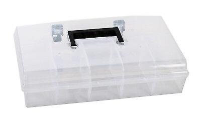 Sortierkiste Sortimentskasten Kleinteilebox Klarsichtbehälter Sortierbox Neu Attraktive Mode Boxen Klein- & Hängeaufbewahrung