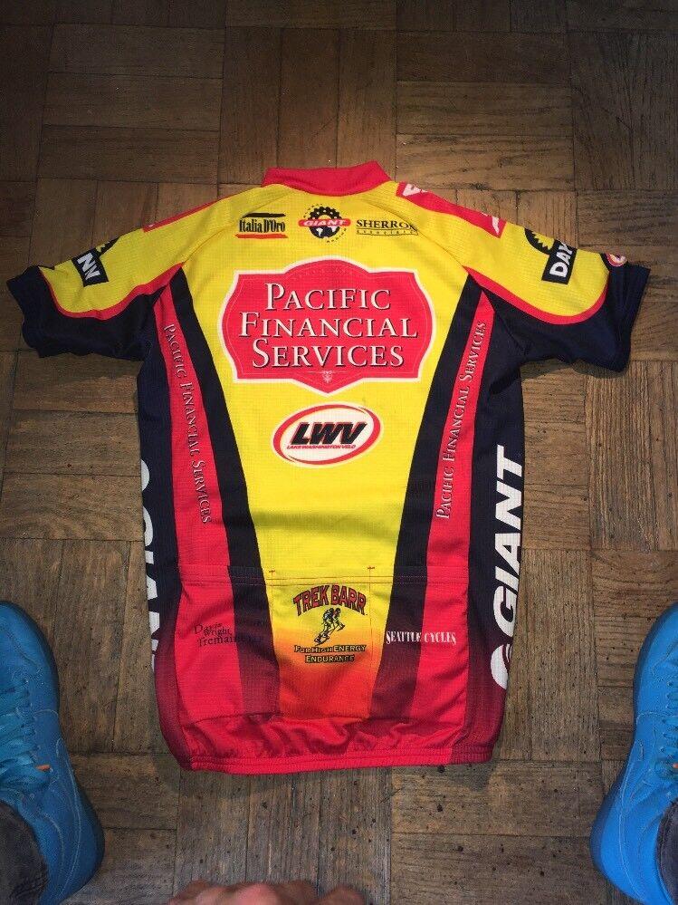 Squadra Castelli Mens Mens Mens Cycling Jersey Dimensione Medium 779b20