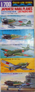 1-700-WATER-LINE-SERIES-JAPANESE-NAVAL-PLANES-LATE-PACIFIC-WAR
