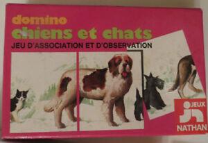 Domino-Chiens-et-Chats-Nathan-Cavahel-Vintage