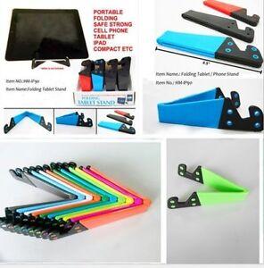 Universal-Desk-Stand-Mobile-Phone-Tablet-Holder-Adjustable-Foldable-Portable-NEW