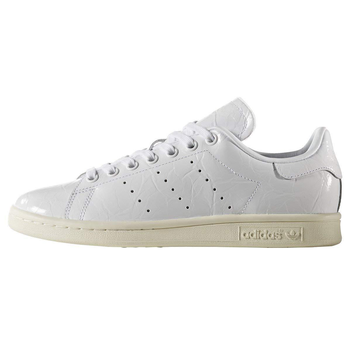 Adidas Originals Stan Smith W BB5162 women's trainers crinkled leather white