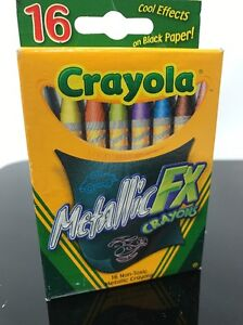 Metallic Fx Crayons Crayola 16 Count Non Toxic Assorted Ultimate Collection C183