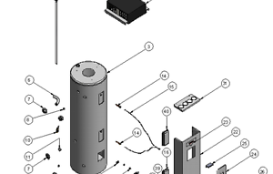 Rheem Dux Hot Water Tank Cylinder Anode 1153mm Long P N