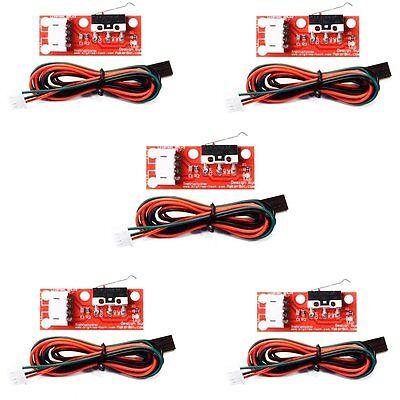 5PCS RAMPS 1.4 Endstop Mechanical Limit Switch RepRap 3D Printer Prusa CNC