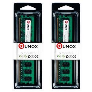 QUMOX 4GB (2 x 2GB) DDR2 800MHz PC2-6400 PC2-6300 (240 PIN) DIMM Módulo memoria