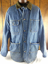 Banana Republic Dark Denim Collar Jean Jacket Size M Red Tag