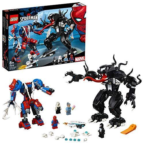 LEGO 76115  Marvel Super Heroes Spider Mech vs. Venom