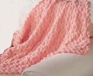 Nice Knitting Patterns : Knitting Pattern-Baby blanket pattern in Aran wool, nice pattern to knit eBay