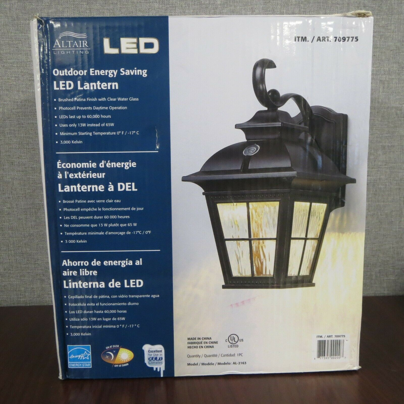 Outdoor Energy Saving Wall Led Lantern