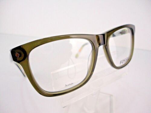NEW Fossil FOS 6052 OMBD Olive Transparent 53 X 17 145 mm Eyeglass Frames