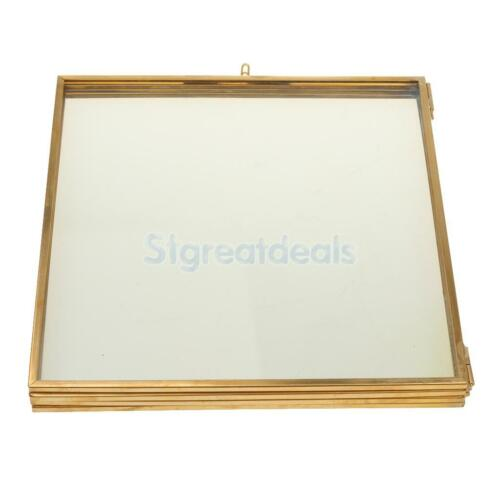 Antique Vintage Glass Free Standing Floating Picture Photo Frame Portrait