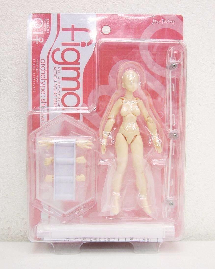 Figma  001 Archétype Elle Flesh Couleur Ver. Figurine Max Factory Nouveau de  plus vendu