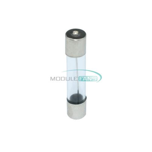 20PCS 250V 30A Fuses Quick Blow Glass Tube 6 x 30mm F30AL250V Fuses MF