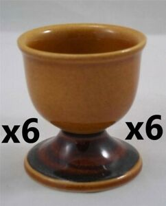 Villeroy-amp-and-Boch-PICNIC-6-x-egg-cups-NEW-eggcups