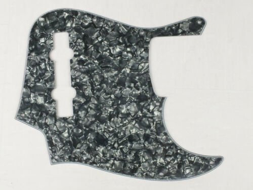 SCRATCH PLATE Pick Guard to fit 5 String JAZZ BASS USA//Mex J Basses 6 Colours