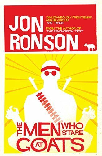1 of 1 - The Men Who Stare At Goats by Ronson, Jon 0330375482 The Cheap Fast Free Post