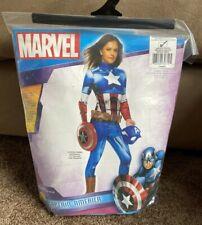 Medium Rubies Marvel Universe Captain America Pet Costume