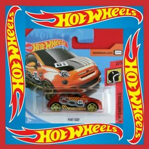 Hot-Wheels-2018-Fiat-500-neu-amp-ovp