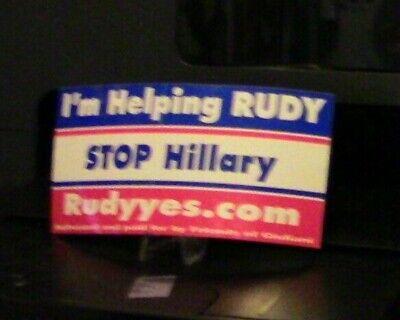"Thomas Jefferson /""TYRANNY VS LIBERTY/"" window decal BUMPER STICKER anti Hillary"