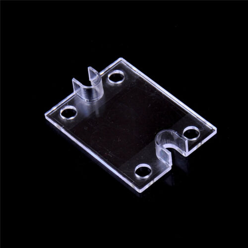 5PCS Safety Cover for Single Phase Solid State Relay SSR Clear Plastic Cover