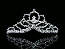 Bridal Rhinestone Crystal Wedding Tiara Hair Comb 6044