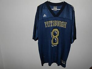 Image is loading Vintage-Pittsburgh-Pitt-Panthers-8-Adidas-Jersey-Adult- f9998ace0