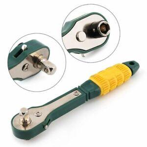 Mini-1-4-Cacciavite-6-35-mm-interno-esagonale-a-cricchetto-chiave-a-bussola-M4U2