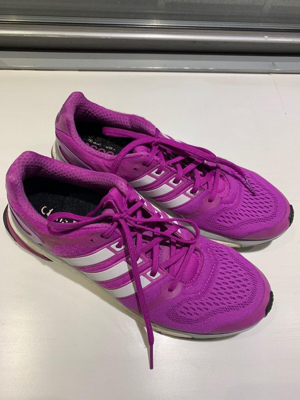 Women's Adidas Adistar Boost In Purple, Size US 10