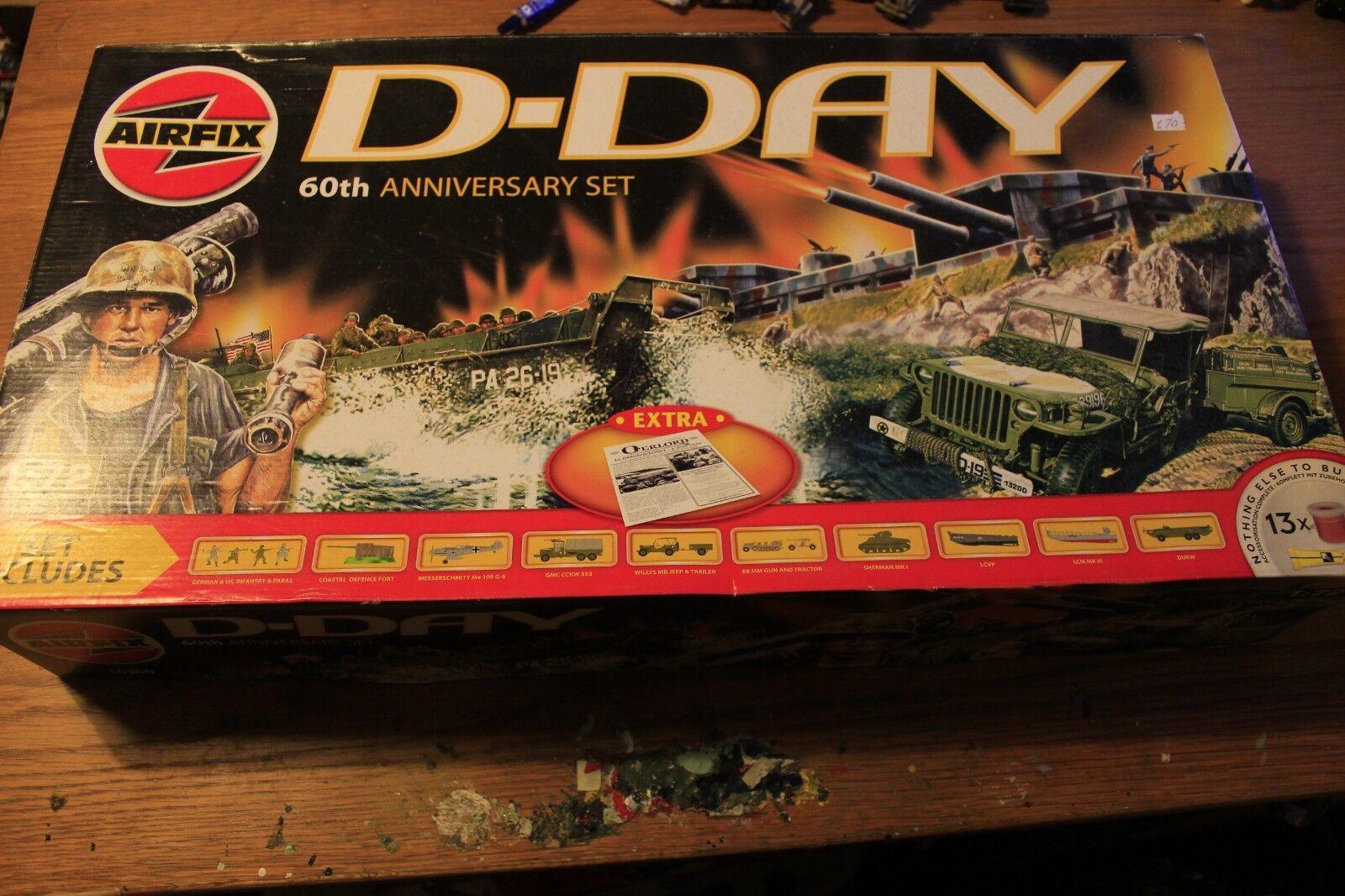Airfix D-Day set 60th Anniversary 1 72 model kit