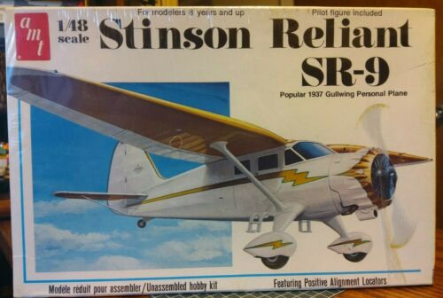 AMT 1//48 Stinson Reliant SR-9 #T639