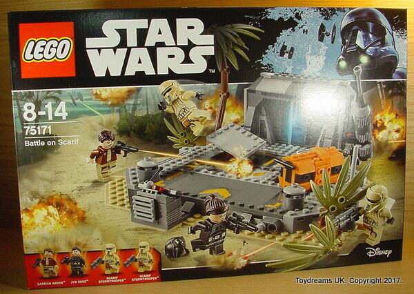 Lego Star Wars Rogue une bataille sur SCARIF Imperial Bunker Set 75171 NEUF