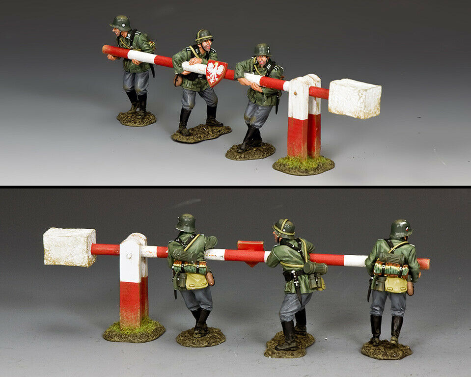 KING & COUNTRY WW2 GERMAN ARMY WH084 BREAKING THE BARRIER MIB