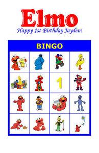 Elmo-Birthday-Party-Game-Bingo-Cards
