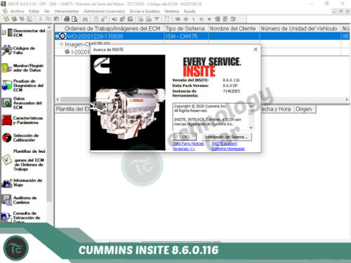 CUMMINS INSITE 8.6.0.116 PRO ZAP-IT