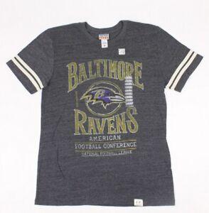 Junk-Food-Mens-Baltimore-Ravens-NFL-T-Shirt-Tank-Top-Grey-M-New