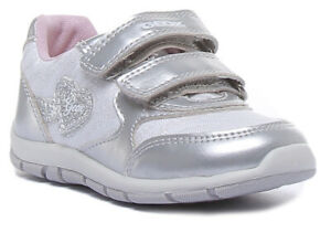 Geox B SHAAX Kids Synthetic Trainers In