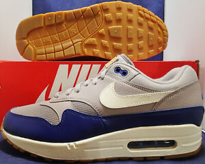 Nike-Air-Max-1-Atmosphere-Grey-Sail-Deep-Royal-Blue-SZ-9-AH8145-008