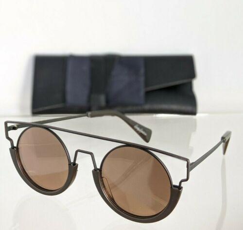 Brand New Authentic Yohji Yamamoto Sunglasses YY 7017 115 Brown Frame