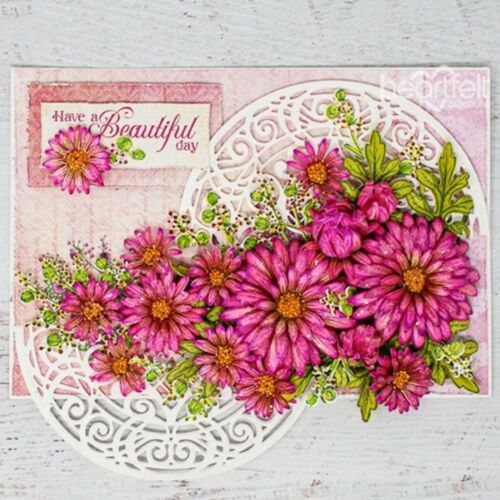 Heartfelt Creations Wild Aster Collection CHOOSE ONE SET Dies+Stamps Set ~ NIP
