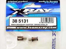 Xray M18 Inner Driveshaft Adapter Spring Steel (2) 385131 modellismo