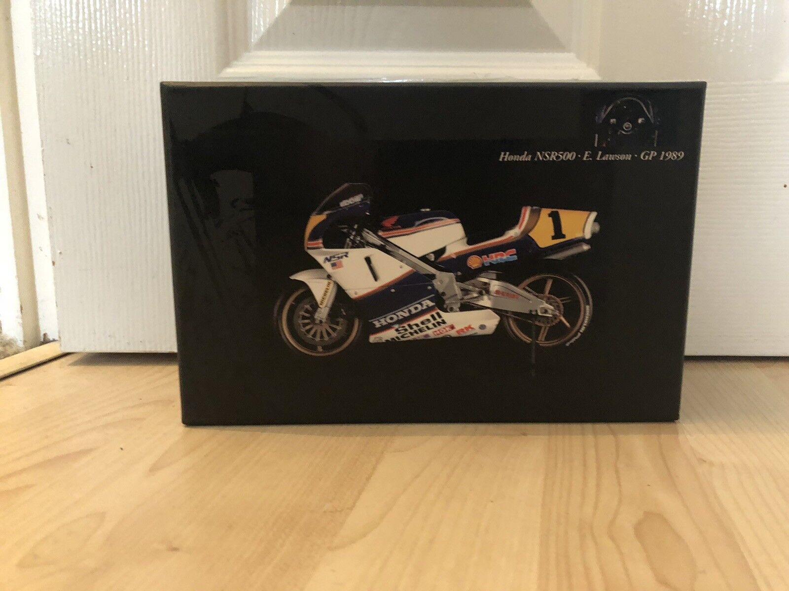 Minichamps 1:12 HONDA NSR 500 EDDIE LAWSON GP 1989 MEGA RARO NUOVO ROTHMANS Decalcomanie
