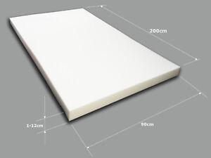 Schaumstoff-Schaumstoffplatte-Schaumstoffpolster-Polsterauflage-Schaum-90x200cm