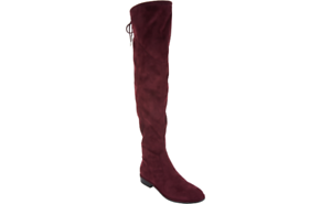 57ee5ab0c8d Marc Fisher Faux Suede or Velvet Over-the-Knee Boots - Hulie pick ...