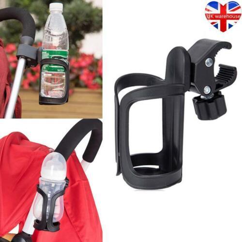 Universal Drink Holder Baby Stroller Milk Cup For Pushchair Bike Pram Buggy UK