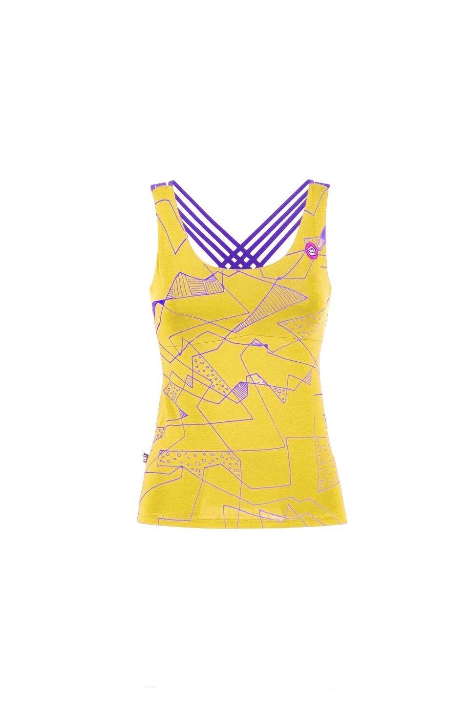 E9 Noa, Lime; Women's Top; climbing-top, Yoga